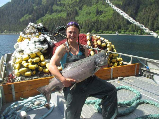 Il salmone selvaggio dell'Alaska a Identità Golose 2021  Image of Il salmone selvaggio dell'Alaska a Identità Golose 2021