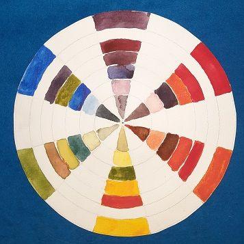 Cómo hacer un círculo cromático de 12 colores