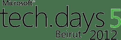 Tech.Days5 Beirut