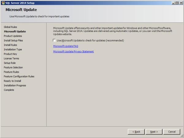 installing tabular model step 2