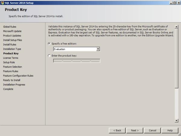 installing tabular model step 5
