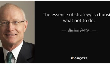 Why Porter's Competitive Strategy is more relevant now than ever?