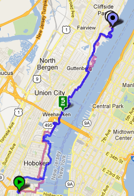 Jersey City to Outback