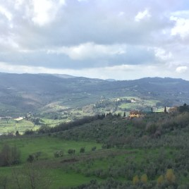 View of the countryside