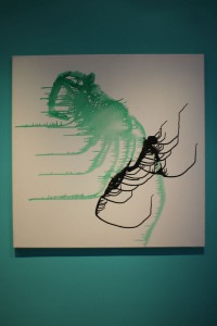 Abstract Neuronal Network - The Cricket and the Ant by Ramona Romanu