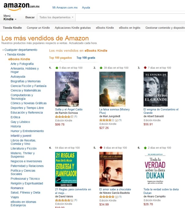 Amazon.com.mx ebooks Kindle - 2015-04.12