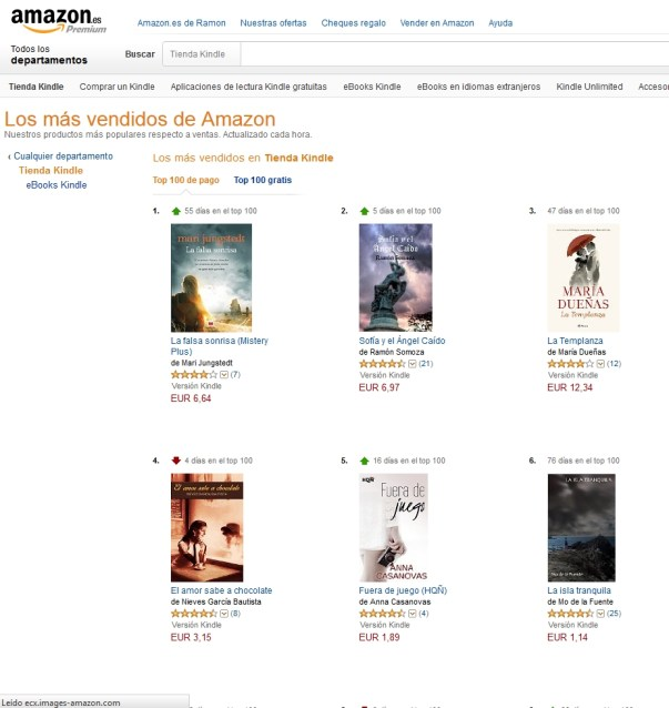Amazon.es Tienda Kindle - 2015-04.12