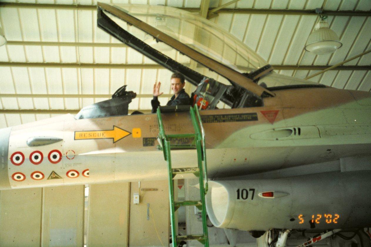 F-16A - 107 המיתולוגי