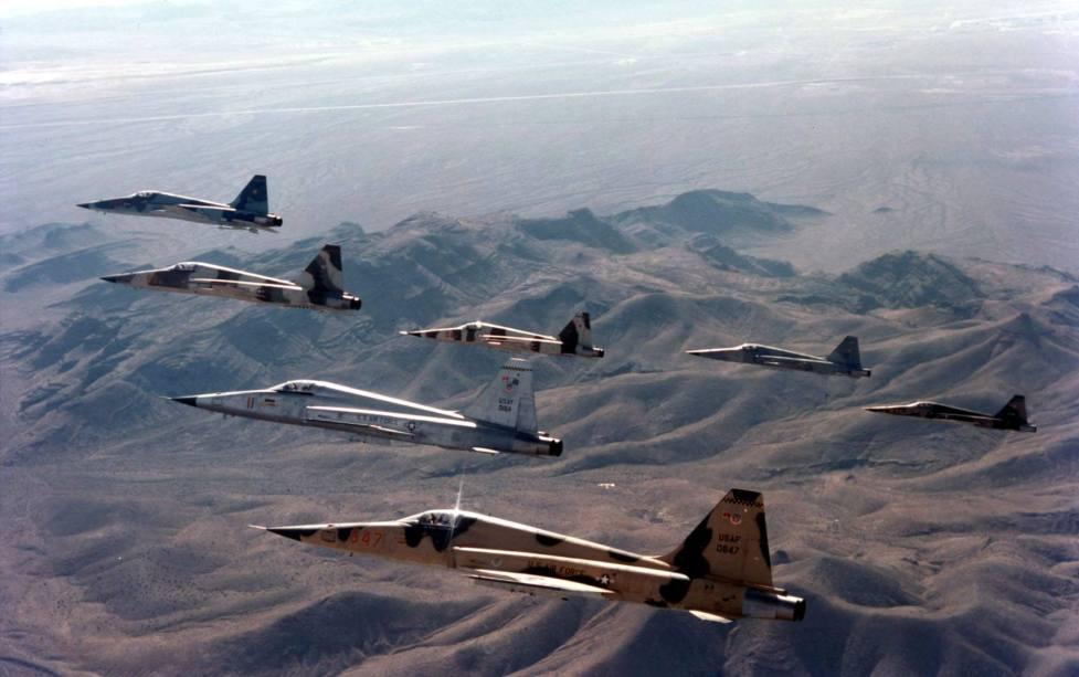 F-5E Agressors