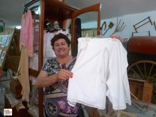 Concha, presidenta Amas de Casa Puerto de Santa Bárbara