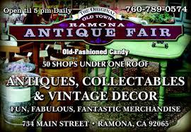 Ramona Antique Fair
