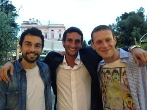 Andrea Fassi, Max Sonnino, Giovanni Naldi