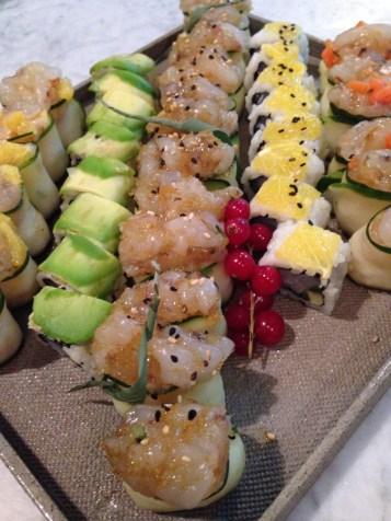 Settemari- Roma- ristorante di pesce-cucina mediterranea -chef Libera Iovine-sushi a Roma