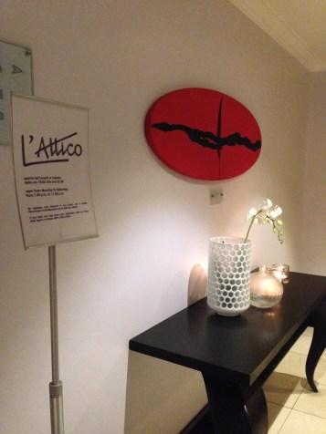 Attico Bistrot-Roma-cucina romana-cucina italiana- 'Hotel Capo d'Africa- roof garden- chef Erio Ivaldi