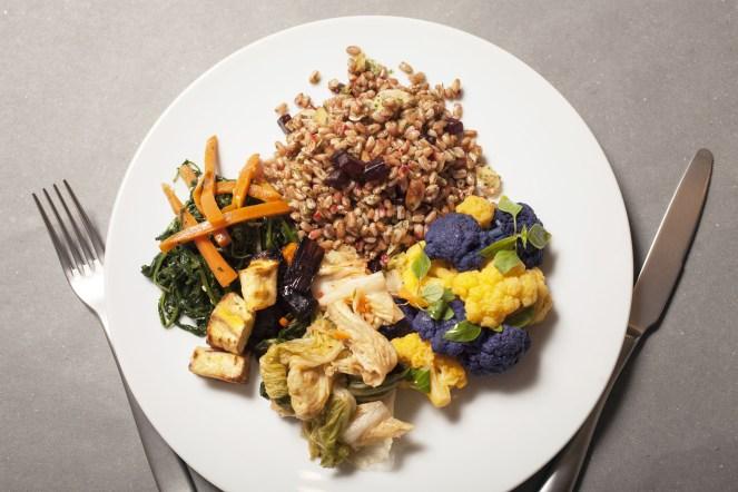 PRANZO-Piatto unico vegetariano