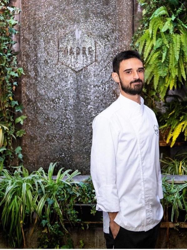 Chef Andrea Sacerdoti - Madre Roma