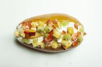 Marì - Maritozzo Frutta - Frutta di stagione e panna espressa montata in casa