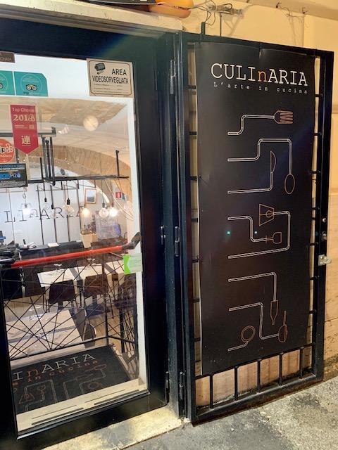 esterno del ristorante Culinaria