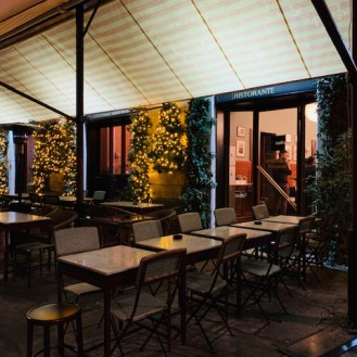 'Gusto ristorante a Roma, il dehors