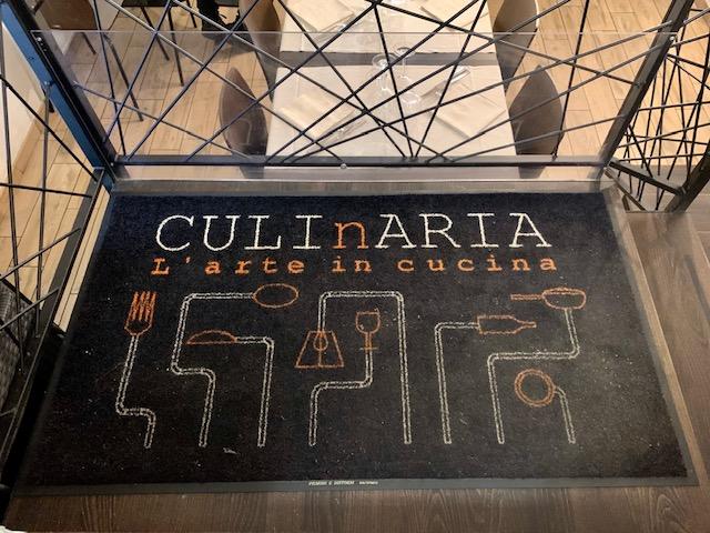 ingresso ristorante Culinaria a Roma