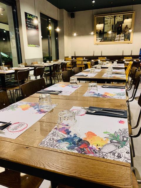 scorcio della pizzeria Favilla a Roma