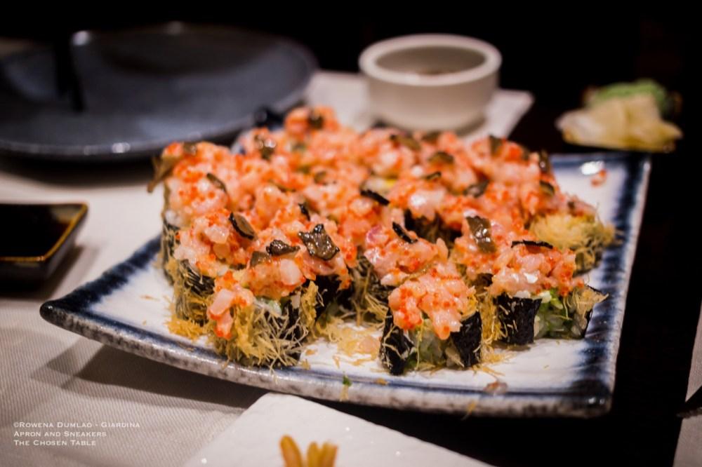 sushi gamberi
