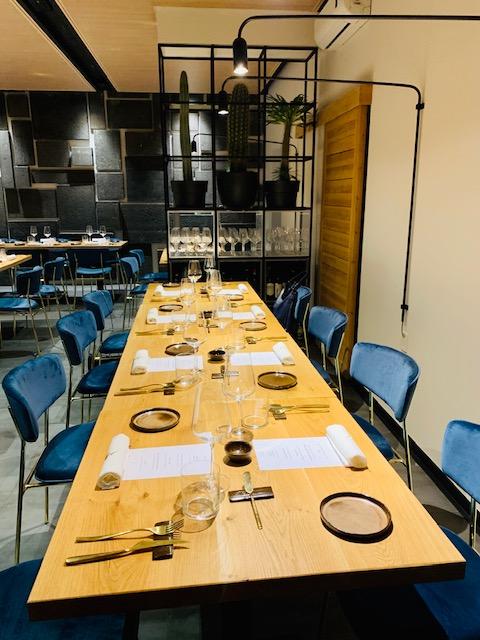 tavolo ristorante Almatò Roma