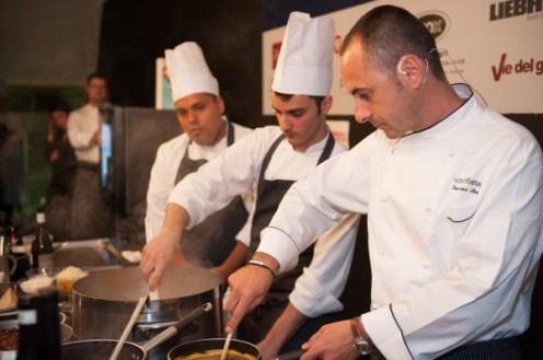Vinòforum 2016- Cantine da Chef International Edition - Chef's Table -alta cucina- grandi marche di vini e champagne
