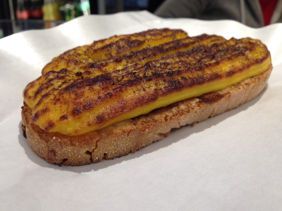 Brusco Lo Strabuono- dove mangiare a Trastevere- Roma- Bruschette- street food