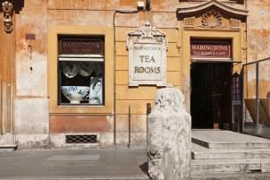 Babington's-piazza di Spagna-tè vittoriano-Tea room-Roma