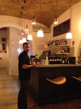 Palatino Bistrot- Roma-via Tirso-cucina francese- materie prime italiane-vini francesi