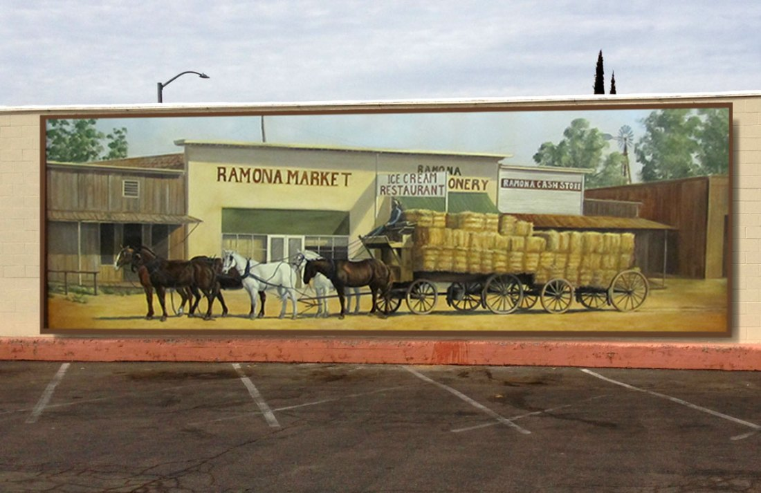 Historic Commerce Mural