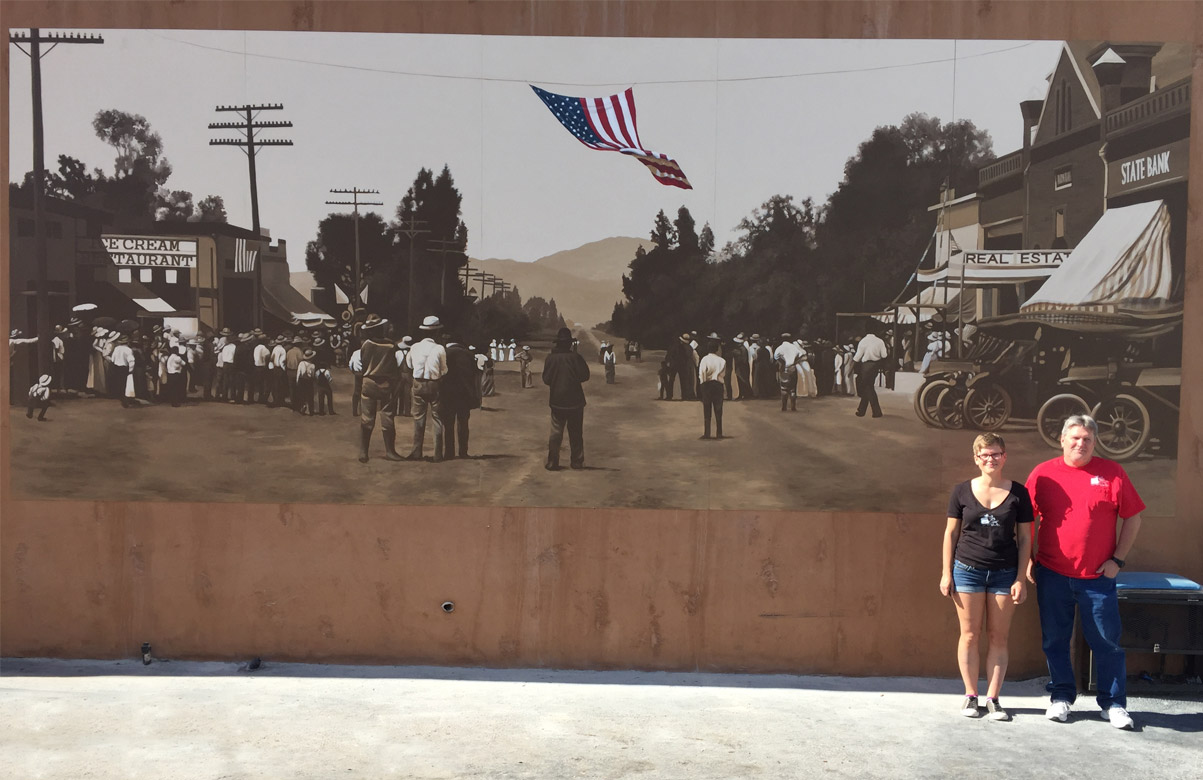 July 4th, 1914 Main Street Ramona