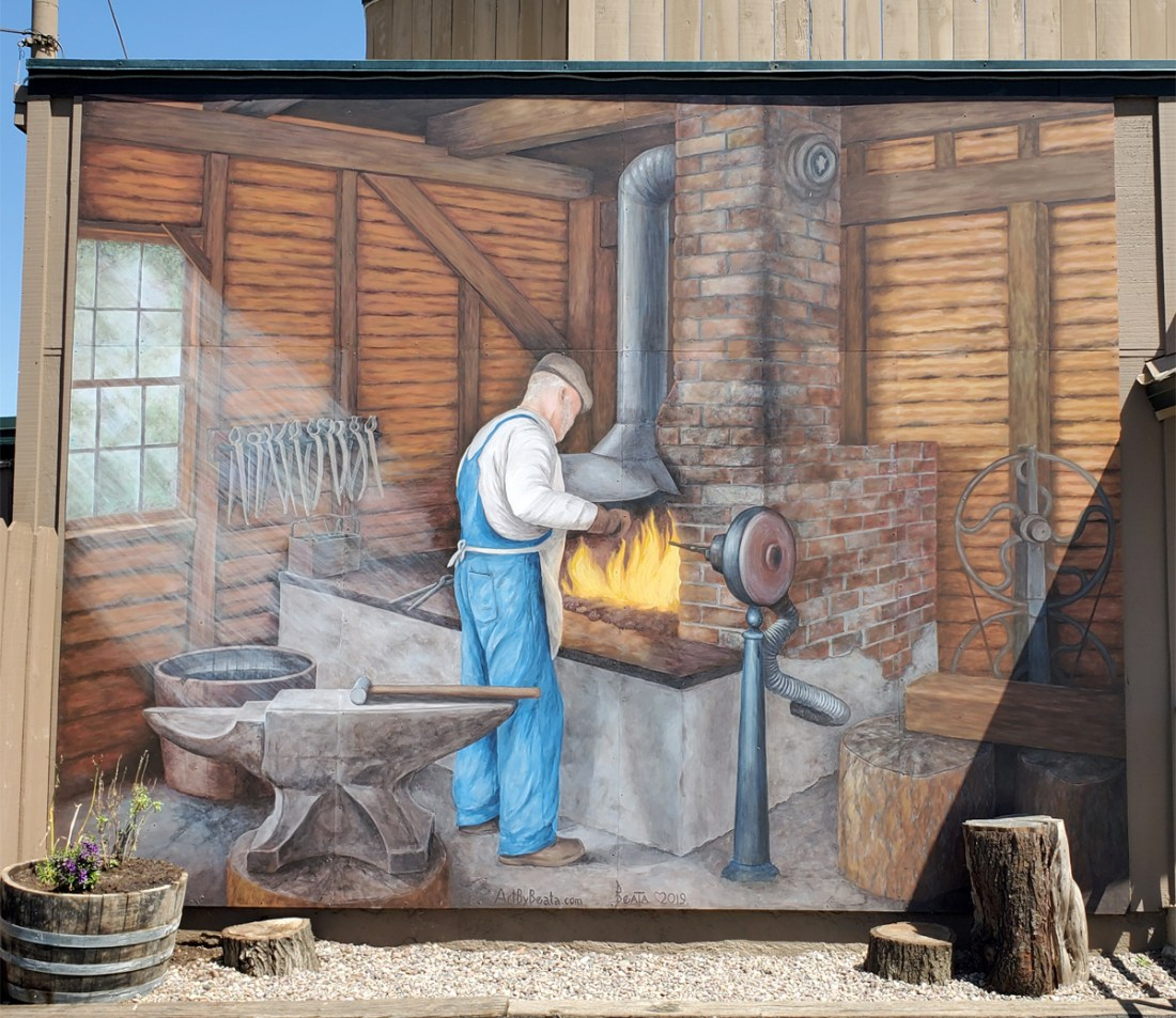Bandy Blacksmith