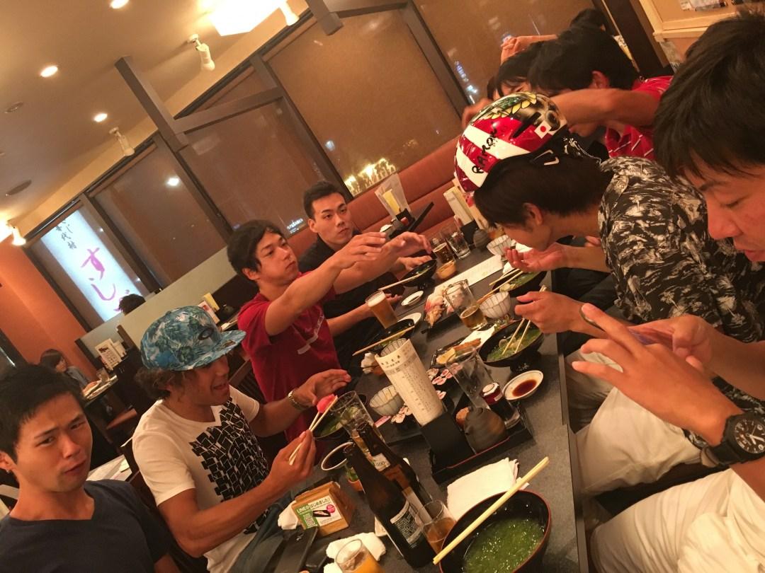 後半にはハウティ武岡氏も合流し、最高に楽しい大騒ぎでした!