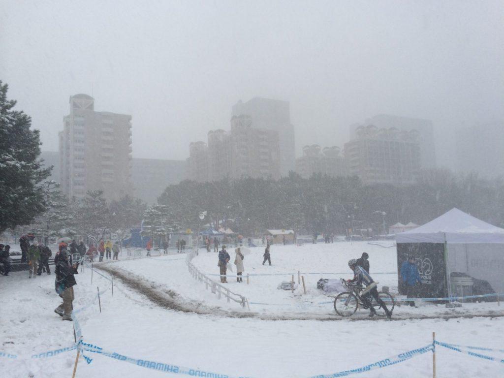 雪国でのシクロや!(東京)
