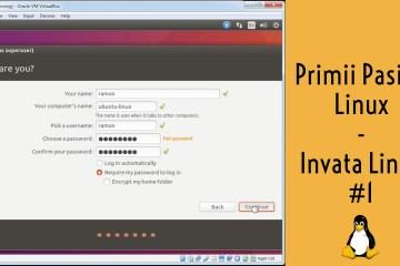 primii pasi in ubuntu linux invata linux ramon nastase