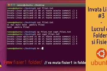 Lucrul cu Foldere si Fisiere din terminal in ubuntu linux