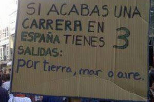 España y sus salidas laborales