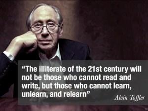 Alvin Toffler futurist