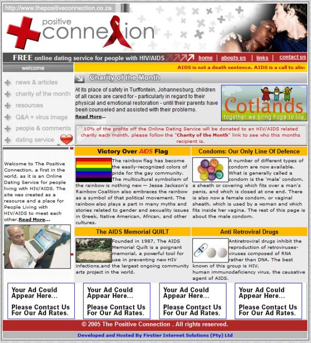 positive connection dating site