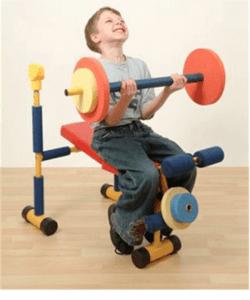 childhood workout exercises