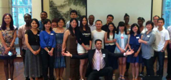 Ningbo University Toastmasters club China District 85