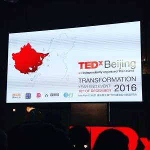 TEDxBeijing 2016 year-end event at Mee Park