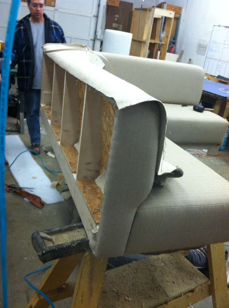 Woodleys Fine Furniture Sofa Back Philip Ramos Upholstery