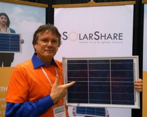 Green Living Show Fun with SolarShare