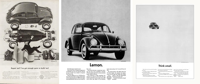 Volkswagen - Think Small Ad 1950s
