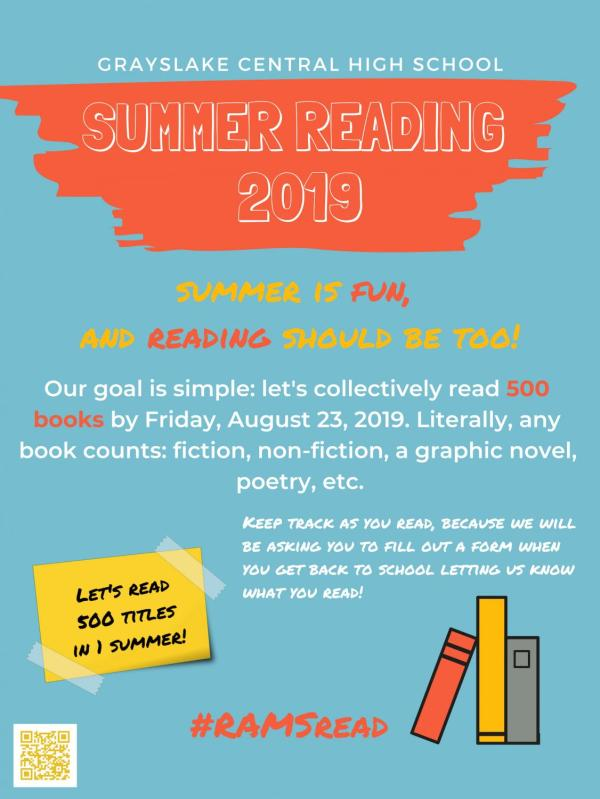 Summer Reading Sets Goal Of 500 Books Rampage