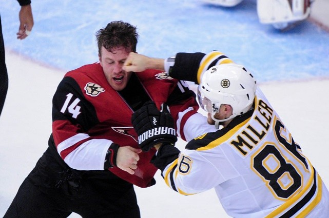 Rules for Fighting in Hockey – Stephen's Ram Page – UNIV 112