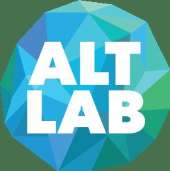 Globe logo of Alt Lab